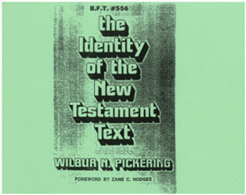 Identity of the New Testament Text