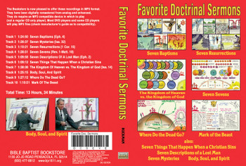 Doctrinal Sermons Collection - MP3