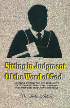 Sitting in Judgment of the Word of God