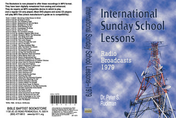 International Sunday School Lessons 1979 - MP3