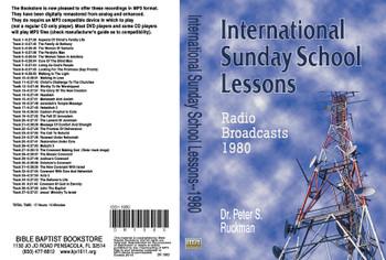 International Sunday School Lessons 1980 - MP3