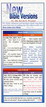 New Bible Versions