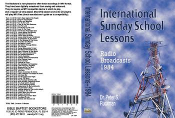 International Sunday School Lessons 1984 - MP3
