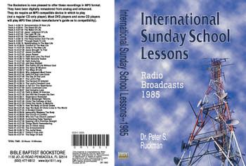 International Sunday School Lessons 1985 - MP3