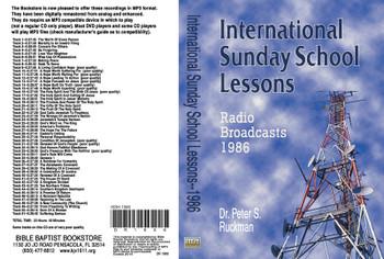 International Sunday School Lessons 1986 - MP3