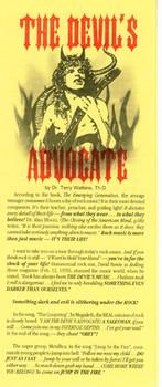 The Devil's Advocate - Tract