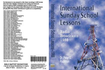 International Sunday School Lessons 1988 - MP3