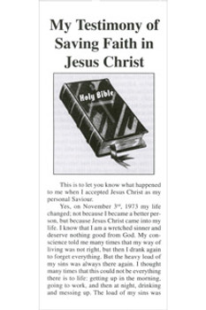 Personal Testimony of Karin McGuire - Tract