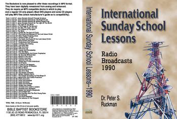 International Sunday School Lessons 1990 - MP3