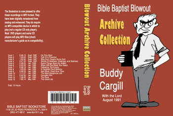 Buddy Cargill: Bible Baptist Blowout Archive - MP3