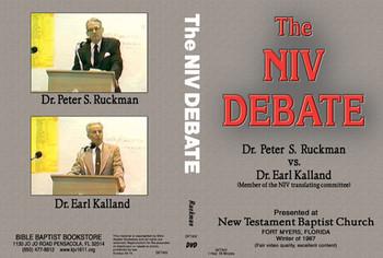 NIV Debate - DVD