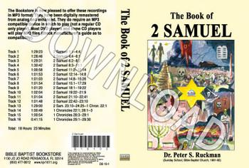 2 Samuel - Downloadable MP3