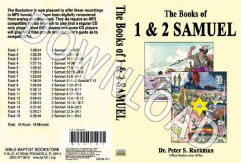 1 & 2 Samuel - Downloadable MP3