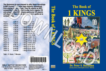 1 Kings - Downloadable MP3