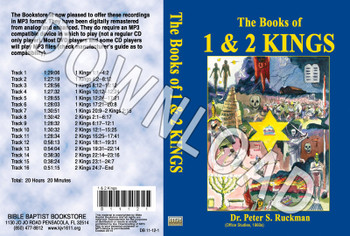 1 & 2 Kings - Downloadable MP3