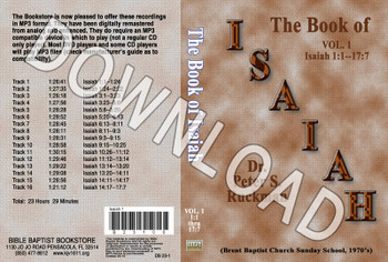 Isaiah, Volume 1 - Downloadable MP3