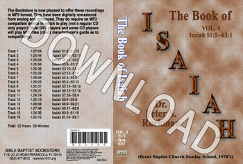 Isaiah, Volume 4 - Downloadable MP3