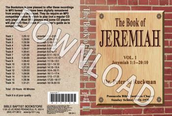 Jeremiah, Volume 1 - Downloadable MP3