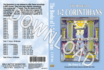 1 & 2 Corinthians - Downloadable MP3