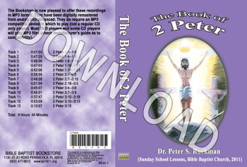 2 Peter - Downloadable MP3
