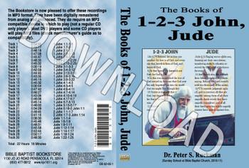 1, 2, 3 John, Jude - Downloadable MP3