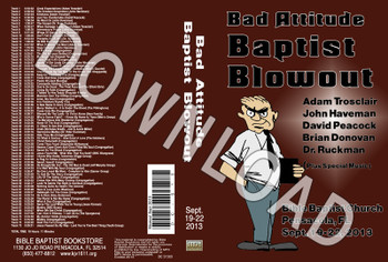 September 2013 Blowout Sermons & Music - Downloadable MP3