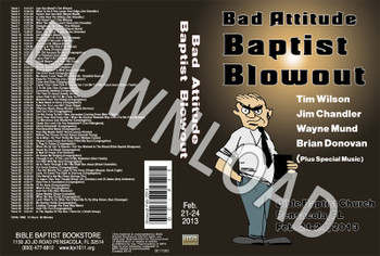 February 2013 Blowout Sermons & Music - Downloadable MP3