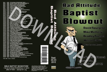 September 2012 Blowout MP3 Sermons & Music - Downloadable MP3