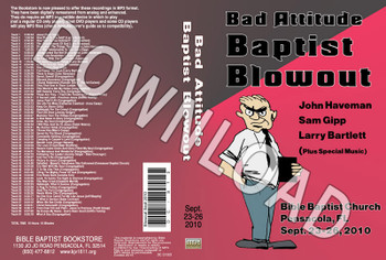 September 2010 Blowout Sermons & Music - Downloadable MP3