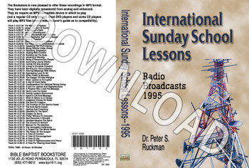 International Sunday School Lessons 1995 - Downloadable MP3