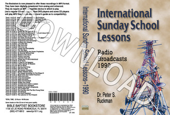 International Sunday School Lessons 1990 - Downloadable MP3