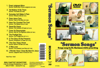Sermon Songs - DVD