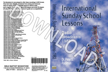 International Sunday School Lessons 1983 - Downloadable MP3