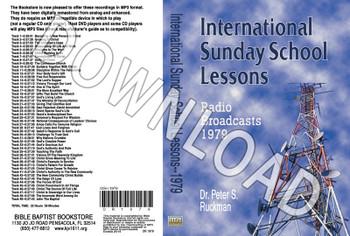 International Sunday School Lessons 1979 - Downloadable MP3