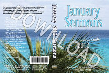 January 2012 Sermons - Downloadable MP3