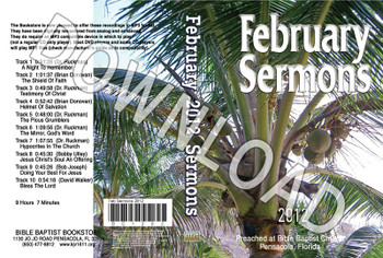 February 2012 Sermons - Downloadable MP3