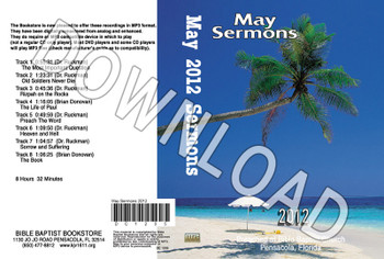 May 2012 Sermons - Downloadable MP3