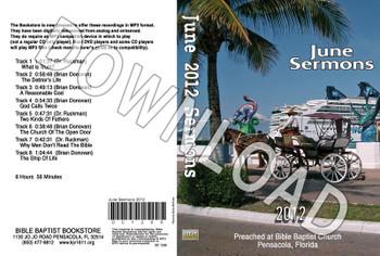 June 2012 Sermons - Downloadable MP3