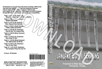 January 2011 Sermons - Downloadable MP3
