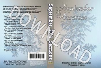 September 2011 Sermons - Downloadable MP3