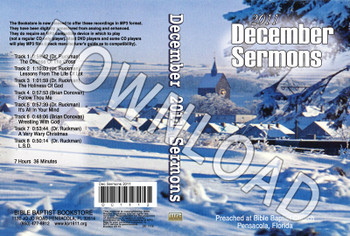 December 2011 Sermons - Downloadable MP3
