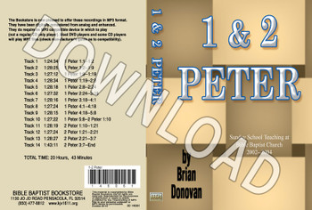 Brian Donovan: 1 & 2 Peter - Downloadable MP3