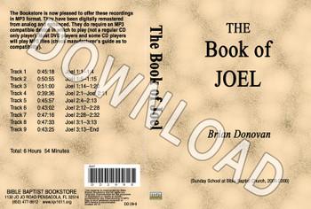 Brian Donovan: The Book of Joel - Downloadable MP3