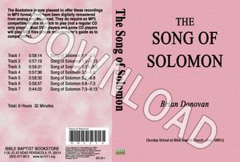 Brian Donovan: Song of Solomon - Downloadable MP3
