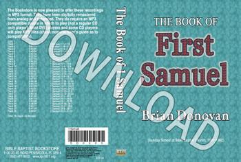 Brian Donovan: 1 Samuel - Downloadable MP3