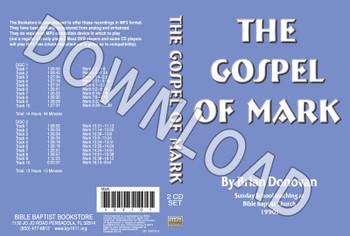 Brian Donovan: The Gospel of Mark - Downloadable MP3