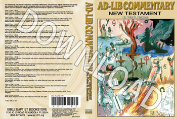 "The ""Ad-Lib"" Commentary, Volume 3 - Downloadable MP3"