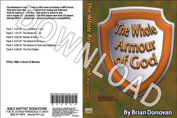 Brian Donovan: The Whole Armor Of God - Downloadable MP3