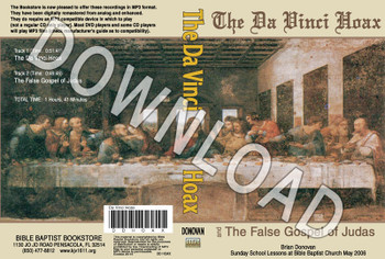 Brian Donovan: The Da Vinci Hoax - Downloadable MP3