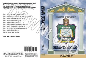 Brian Donovan: Sermons, Volume 9 - Downloadable MP3